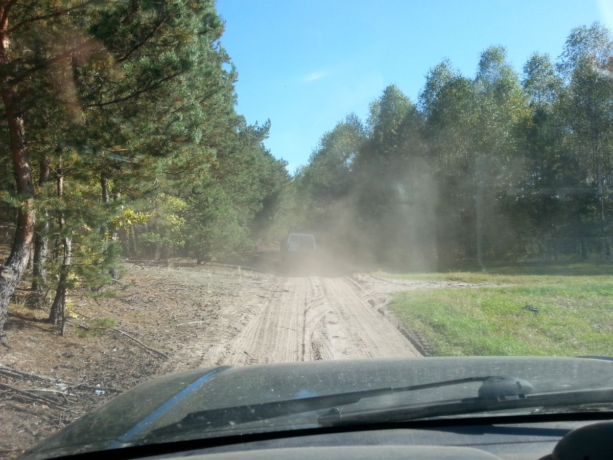 off-road w Broku nad Bugiem